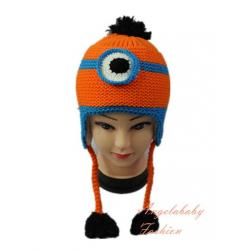Woolen Minion one eye orange