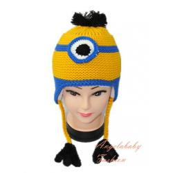 Woolen Minion one eye yellow